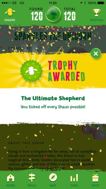 Image of the Shaun Trophy Award
