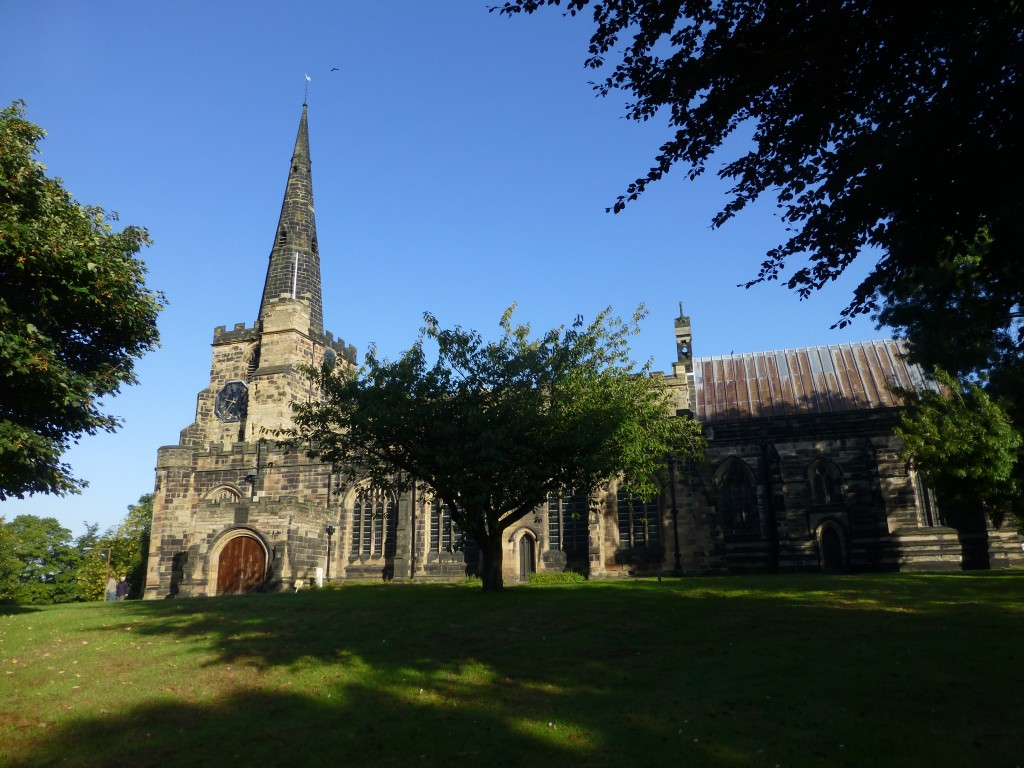 Saint Oswald, Winwick